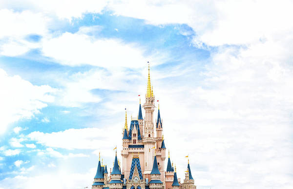 Castle Photograph - Disneyland by Happy Home Artistry