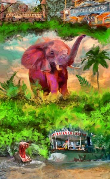 Digital Art - Disney's Jungle Cruise by Caito Junqueira