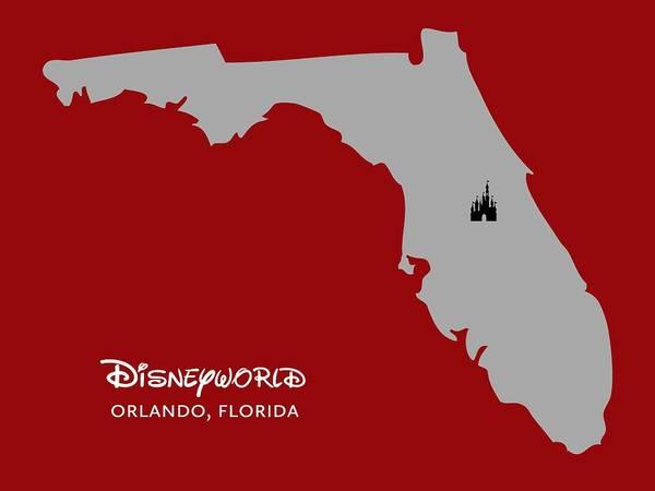 Digital Art - Disneyworld by Nancy Ingersoll