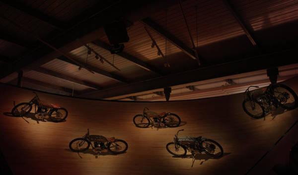 Wall Art - Photograph -  Display Of Harley-davidson Bikes by Art Spectrum