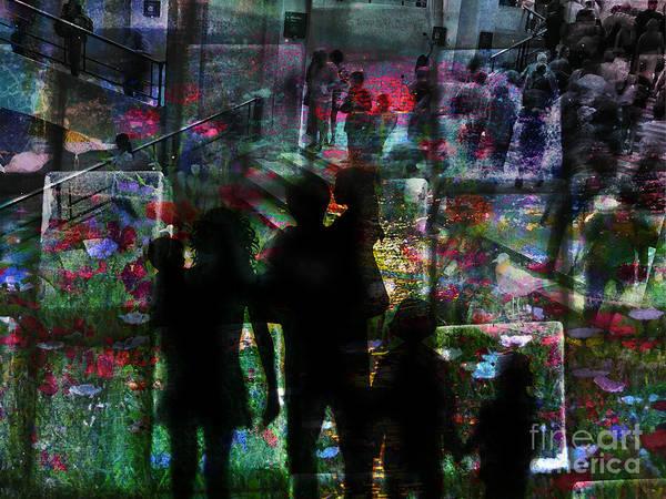 Digital Art - Dissociated 2015 by Kathryn Strick