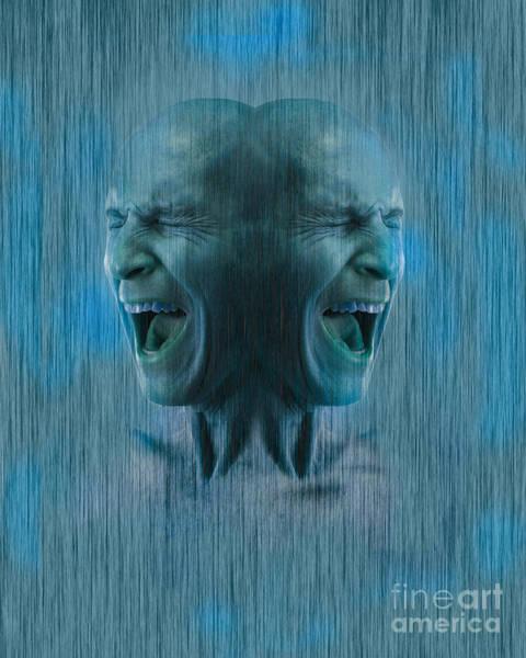 Anguish Photograph - Dissociative Identity Disorder by George Mattei