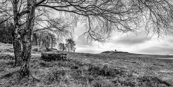 Photograph - Distant Folly by Nick Bywater