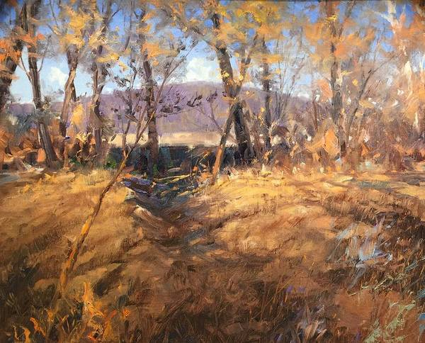 Painting - Distant Hill by Marty Coulter