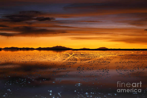 Photograph - Distant Hills At Sunset by James Brunker