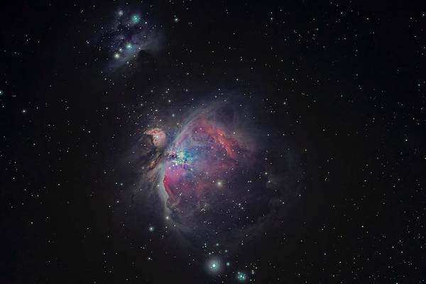 Star Cluster Painting - Distant Nebula by Celestial Images