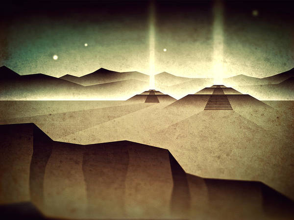 Wall Art - Digital Art - Distant Past Horizon by Milton Thompson