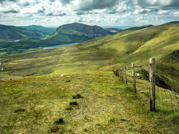 Photograph - Distant Path by Nick Bywater