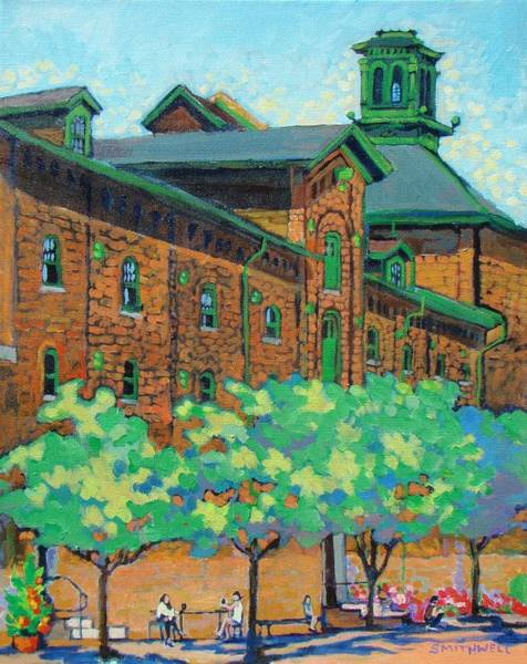 Wall Art - Painting - Distillery District by Jennifer Smithwell