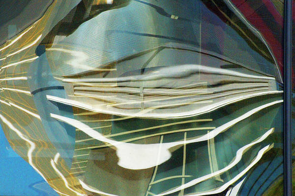 Photograph - Distorted Reflection by Richard Henne