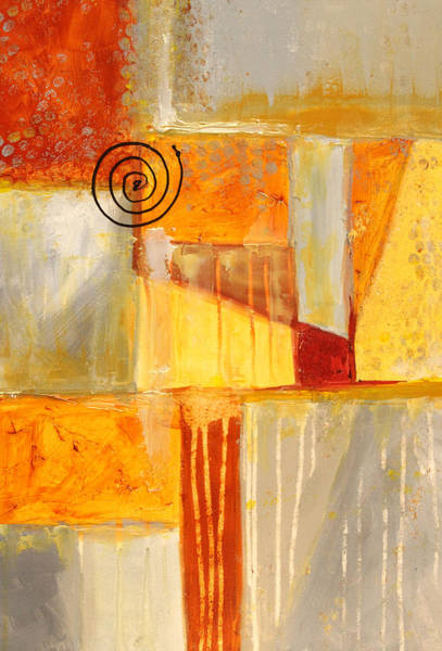Wall Art - Painting - Distractions 2 Abstract Painting by Nancy Merkle