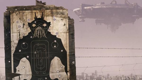 City Digital Art - District 9 by Maye Loeser
