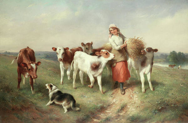Breeding Painting - Disturber Of The Peace by Walter Hunt