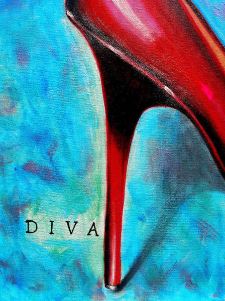 Susi Wall Art - Painting - Diva by Susi Franco