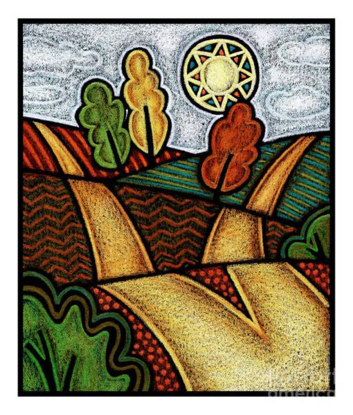 Painting - Divergent Paths - Jldip by Julie Lonneman