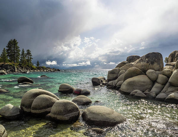 Photograph - Diver's Cove Storm by Martin Gollery