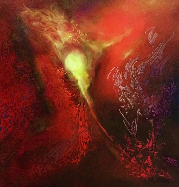 Painting - Diversion by Bielen Andre