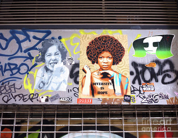 Wall Art - Photograph - Diversity Is Hope In Barcelona by John Rizzuto