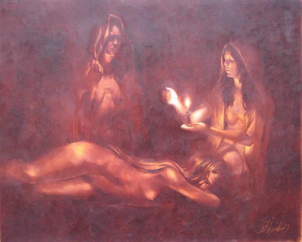 Ignatenko Painting - Divination by Sergey Ignatenko