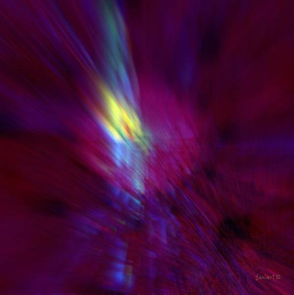 Time Traveler Mixed Media - Divine Activity - No External Pressure by Fania Simon