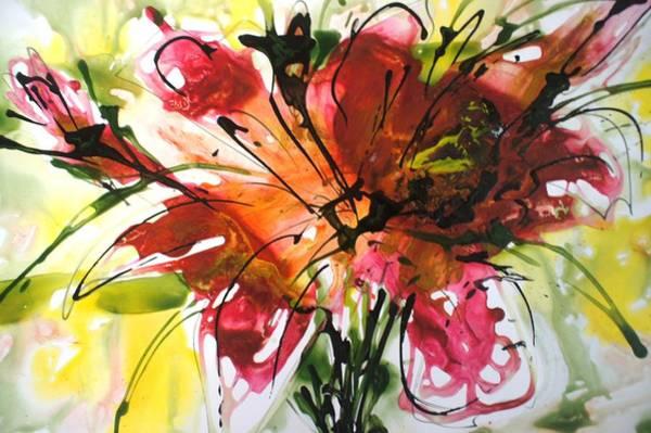 Divine Blooms-21082 Art Print