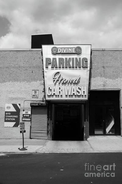 Photograph - Divine Car Wash  by Cole Thompson