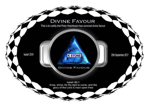 Digital Art - Divine Favour by Peter Hutchinson
