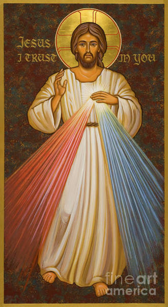 Painting - Divine Mercy - Jcdme by Joan Cole