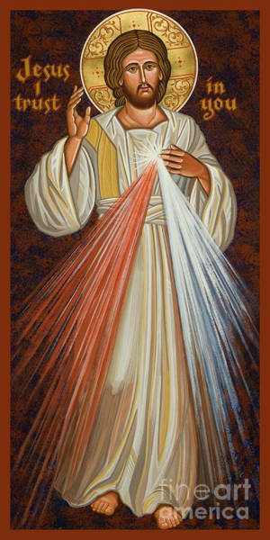 Painting - Divine Mercy - Jcdvm by Joan Cole
