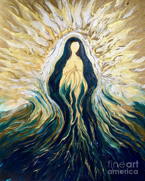 Painting - Divine Mother by Michelle Pier