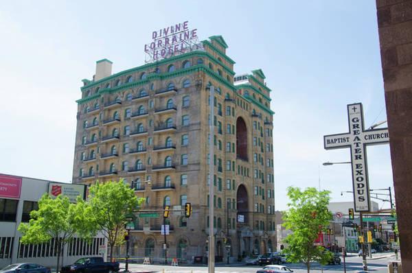Photograph - Divine Resurection - Divine Lorraine Hotel Philadelphia by Bill Cannon