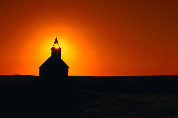 Protestant Photograph - Divine Sunlight by Todd Klassy