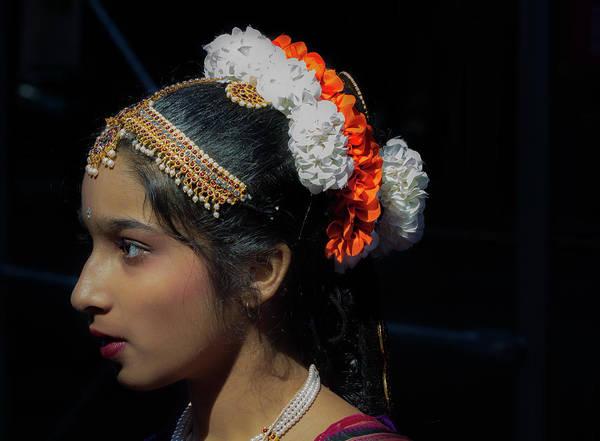 Pride Festival Photograph - Diwali Festival Nyc 2017 Female Dancer by Robert Ullmann
