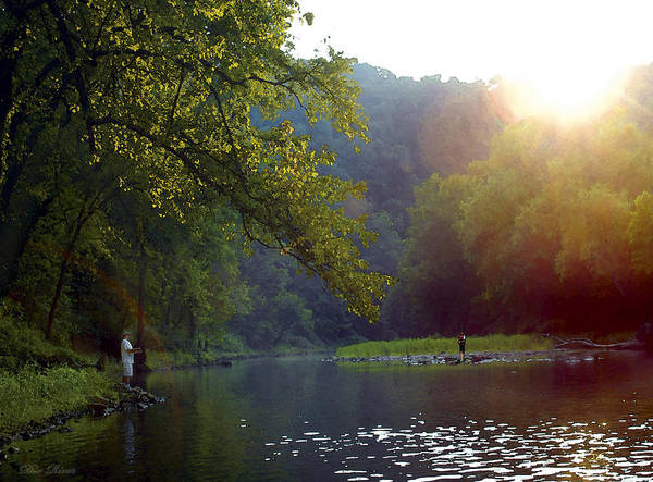 Photograph - Dix River Sunset by Sam Davis Johnson