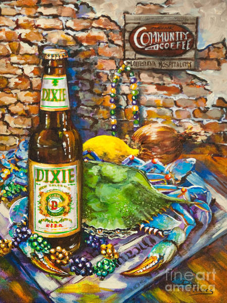 Wall Art - Painting - Dixie Love by Dianne Parks