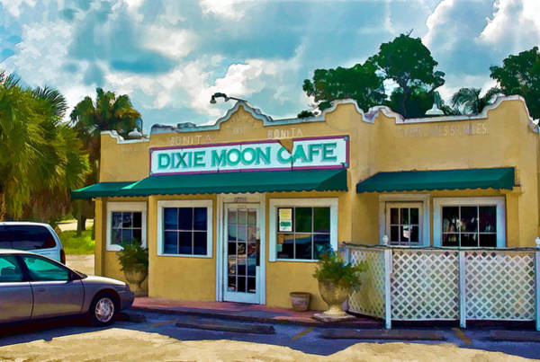 Photograph - Dixie Moon Cafe In Bonita Springs by Ginger Wakem
