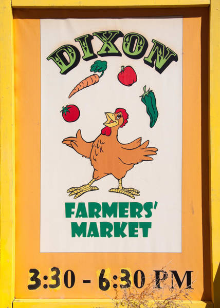 Photograph - Dixon Farmers Market by Britt Runyon