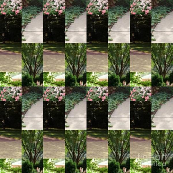 Wall Art - Photograph - Dixon Gallery Gardens  by Karen Francis