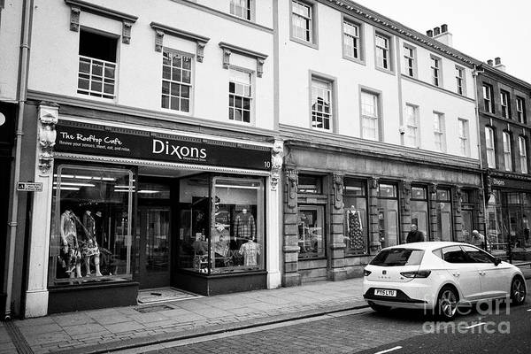 Wall Art - Photograph - Dixons Department Store Whitehaven Cumbria England Uk by Joe Fox