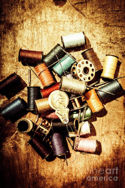 Repair Photograph - Diy Vintage Fashion Design by Jorgo Photography - Wall Art Gallery