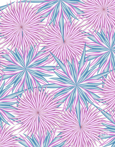 Wall Art - Digital Art - Dizzy Pink Paper by Jamie Lynn