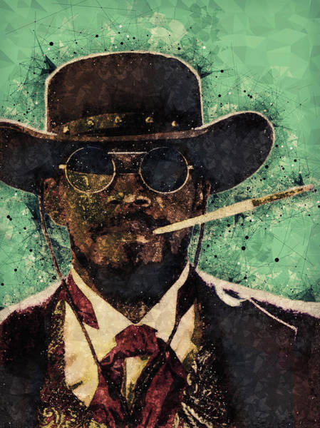 Best Selling Mixed Media - Django Unchained  by Studio Grafiikka