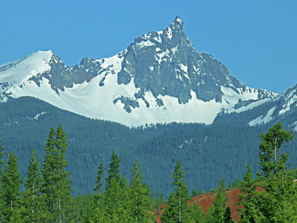 Photograph - Dm5536 Mt. Thielsen by Ed Cooper Photography