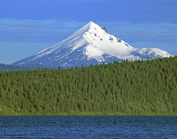 Photograph - Dm5772 Mt. Mcloughlin by Ed Cooper Photography