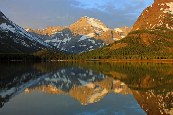 Photograph - Dm8004 Mt. Gould Sunrise Reflect by Ed Cooper Photography