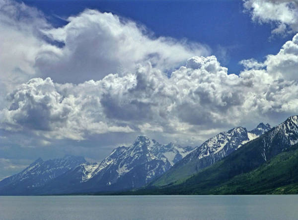 Photograph - Dm9234 Clouds Over Mt. Moran H by Ed Cooper Photography