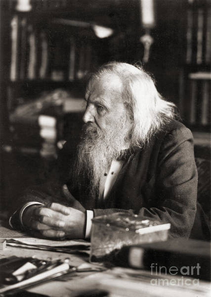 Photograph - Dmitri Mendeleev, Chemist by Science Source