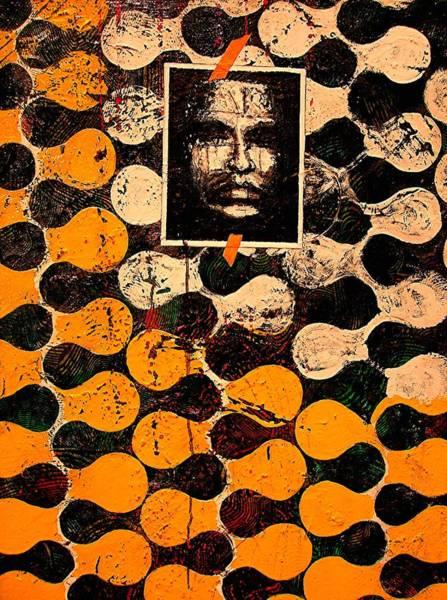 Painting - Dna Plus Fingerprints  by Teodoro De La Santa