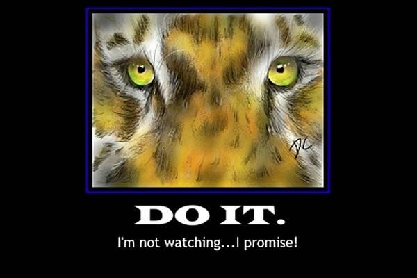 Digital Art - Do It Motivational by Darren Cannell