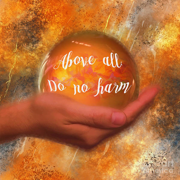 Digital Art - Do No Harm 2016 by Kathryn Strick